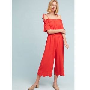 Anthropologie jumpsuit size large